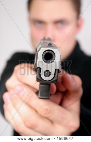 Danger! Pistol Pointed