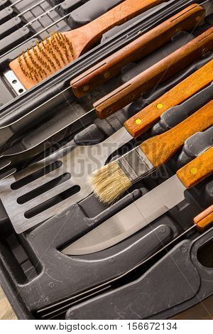 Barbecue Cooking Set