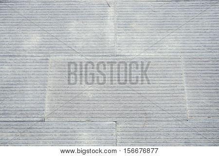 close up old grey concrete pathway texture