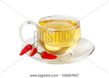 Delicious Hot Tea From Pepper