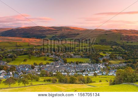 Sedbergh is a small town and civil parish in Cumbria England. Historically part of the West Riding of Yorkshire Yorkshire Dales National Park