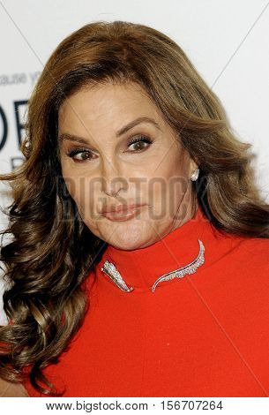 Caitlyn Jenner Caitlyn Jenner at the Glamour Women Of The Year 2016 held at the NeueHouse in Hollywood, USA on November 14, 2016.