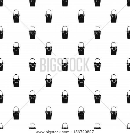 Bucket and rag pattern. Simple illustration of bucket and rag vector pattern for web
