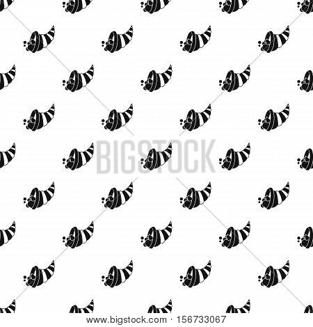 Cornucopia pattern. Simple illustration of cornucopia vector pattern for web
