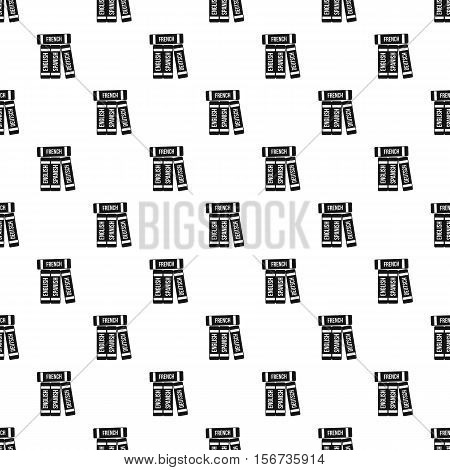 Dictionaries pattern. Simple illustration of dictionaries vector pattern for web