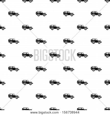 Jeep pattern. Simple illustration of jeep vector pattern for web