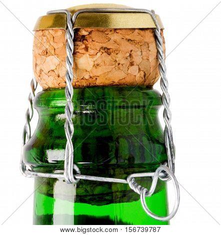 Cork From Champagne Bottle Wine