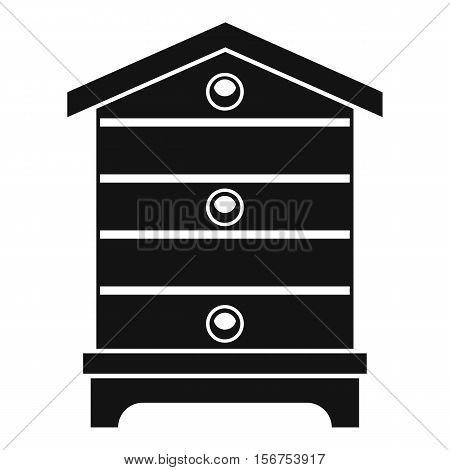 Hive icon. Simple illustration of hive vector icon for web