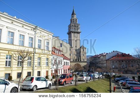 Bielsko-Biala (City in Poland), st. Nicolas church