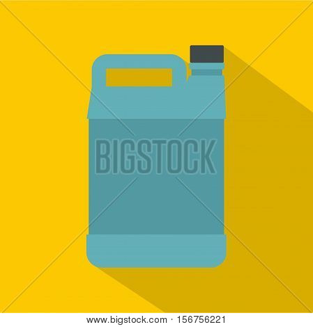 Jerrycan icon. Flat illustration of jerrycan vector icon for web