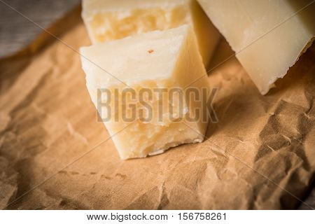 Cheese on papper , cheese on vintage paper