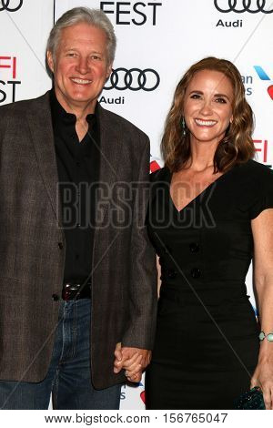 LOS ANGELES - NOV 14:  Bruce Boxleitner, Verena King at the