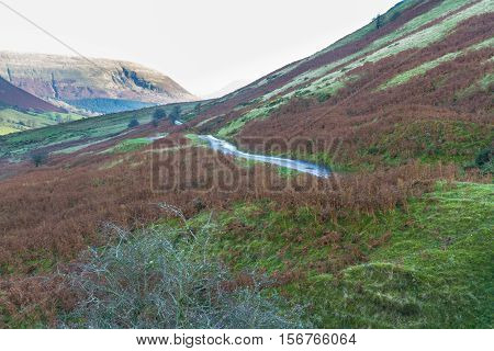 Evening In Mountain Valley, Britain