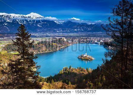 Amazing Bled Lake, Slovenia, Europe