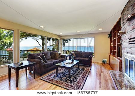 Interior Of Nicely Furnished Living Room