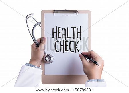 HEALTH CHECK Digital Health Check Healthcare assessment, check, checkup, concepts, condition,