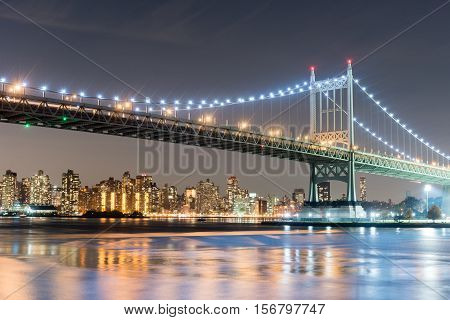 Triboro/rfk Bridge In New York City