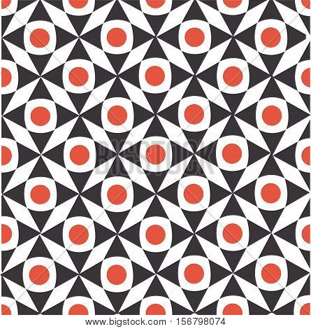 ector seamless geometric pattern. Beautiful color combination