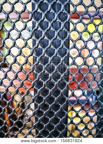 The Steel grating texture. The Material texture.