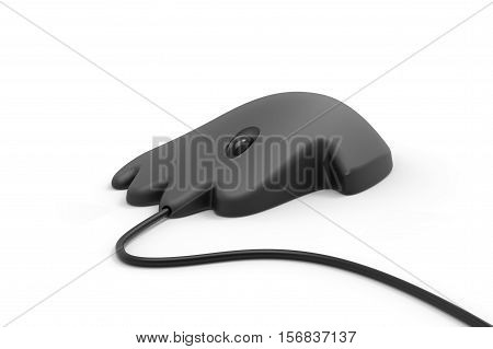 Five Finger Human Hand Shape Computer Mouse 3D