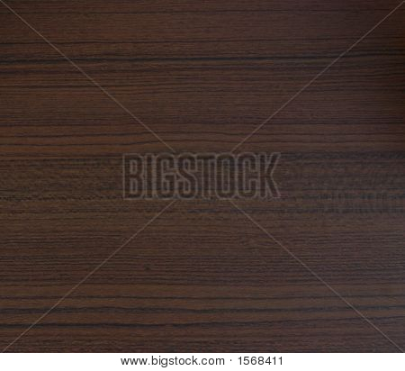 Dark Wood Grain, Close Up View Of Texture