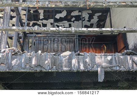 home fire detail image conflagration at abstract