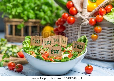 Healthy Salad Made of Vegetables With No Preservatives