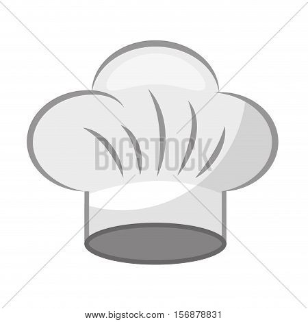 hat chef uniform isolated icon vector illustration design