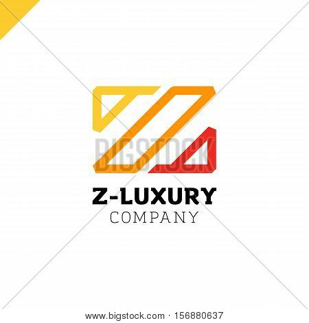 Letter Z - Vector Luxury And Royal, Fashion Style Logo. Line Typeface Logotype
