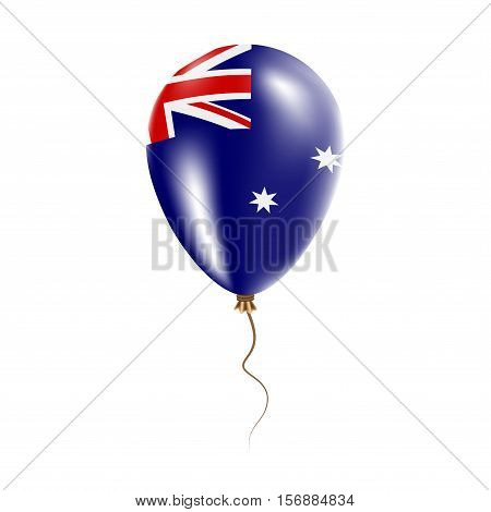 Heard And Mcdonald Islands Balloon With Flag. Bright Air Ballon In The Country National Colors. Coun