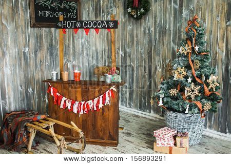 Beautiful Colorful Festively Decorated Interior