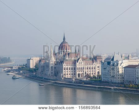 Hungary, Budapest, Hungarian Parliament Building