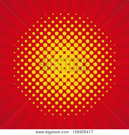 pop art background style poster. colorful design. vector illustration