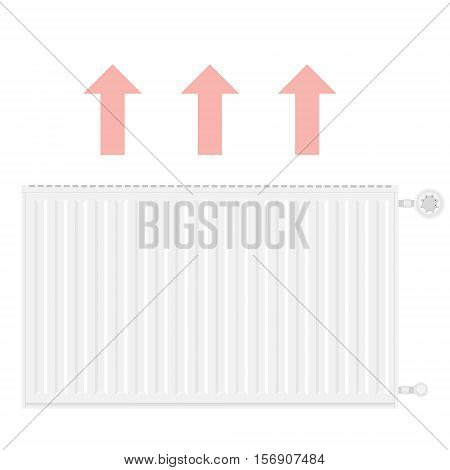 Heating Radiator Vector