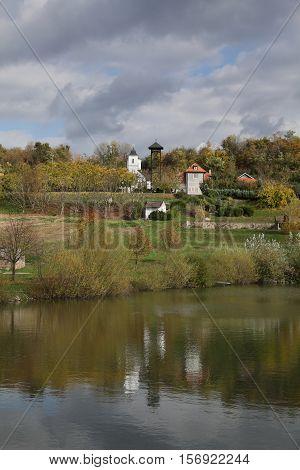 Monastery Petkovica, Fruska Gora Serbia