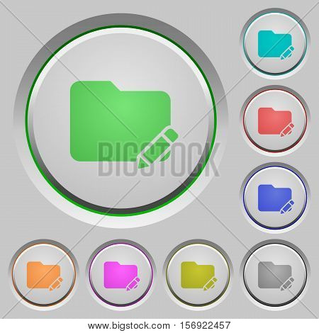 Rename folder color icons on sunk push buttons