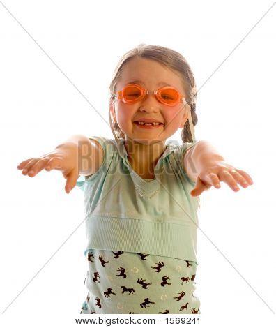 Morgan & Her Goggles