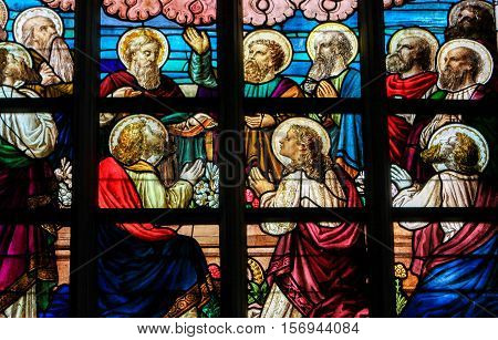 Stained Glass - The Twelve Apostles