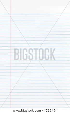A Blank Open Notebook Isolated