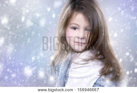 Little Winter Snow Princess