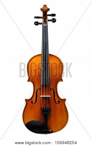 Violin classic instrument isolated on white background