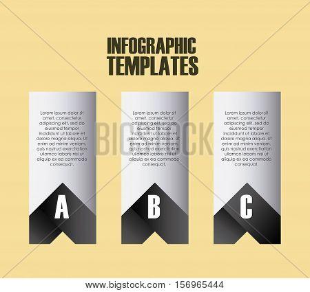 infographic presentation templates. colorful design. vector illustration