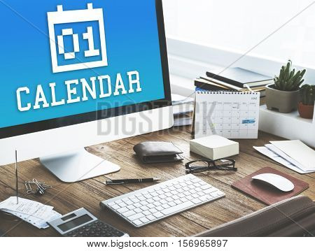 Calendar Appointment Meeting Reminder Events Concept