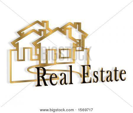3Dimensional Real Estate Logo