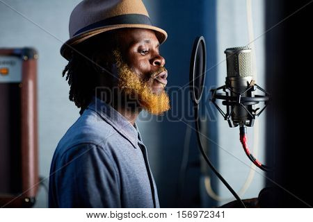 Modern singer