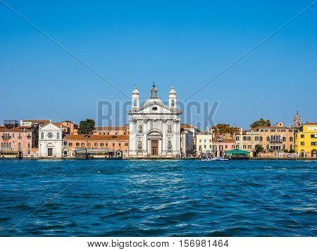 I Gesuati Church In Venice Hdr