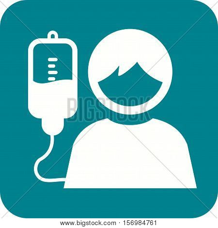 Kids, medical, drip icon vector image. Can also be used for kids. Suitable for web apps, mobile apps and print media.