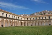 The Charterhouse Saint Lawrence of Padula.Salerno.Campania.Sud Italy poster