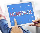 Domain Hompage Html Web Design Webinar SEO Concept poster