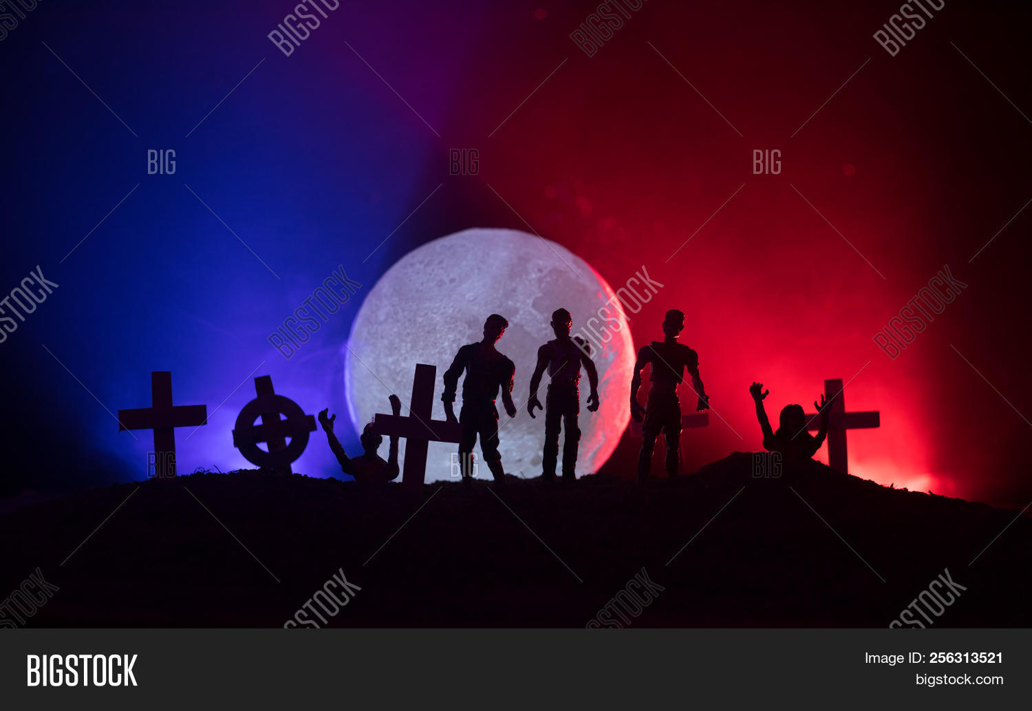 Scary View Zombies Image & Photo (Free Trial)   Bigstock